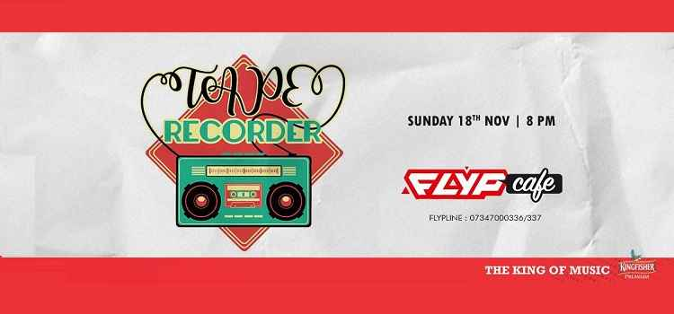 Sway Sunday With Tape Recorder LIVE At FLYP Cafe, Chandigarh