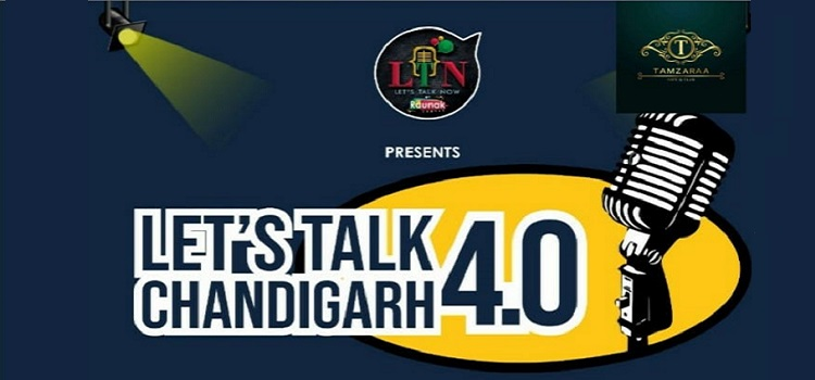 Tamzaraa Presents Let's Talk Chandigarh 4.0