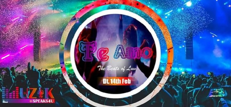 Te Amo - The Beats of Luv At S K Farms Ahmedabad