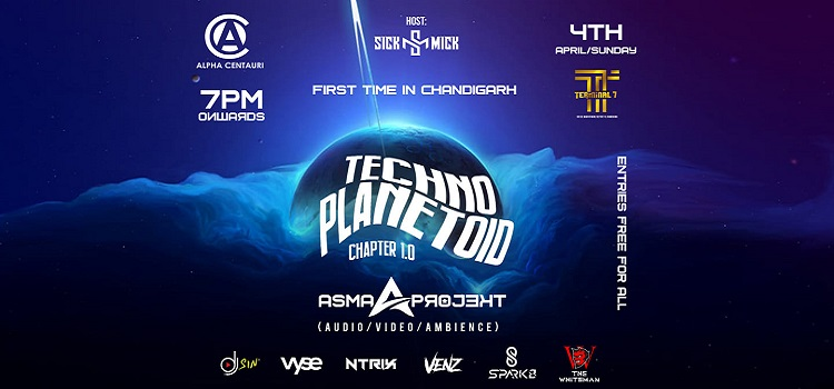 Techno Planetoid 1.0 At Terminal 7 Chandigarh