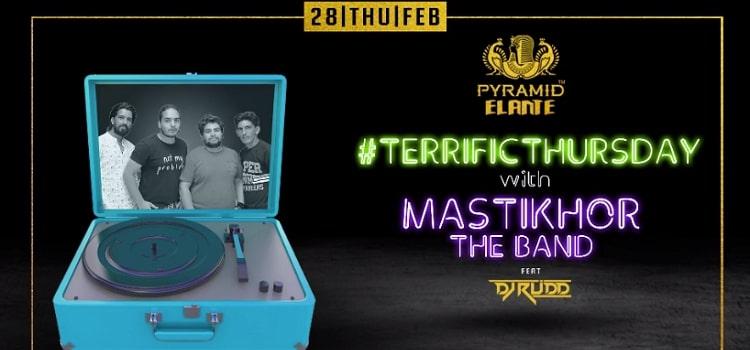 Terrific Thursday Ft. Mastikhor Band At Pyramid