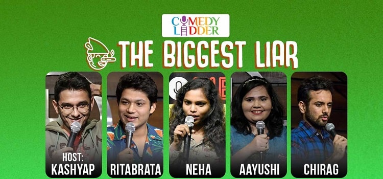 The Biggest Liar -Online Event By Kashyap Swaroop