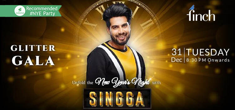 Bling In The New Year With Singga At The Finch