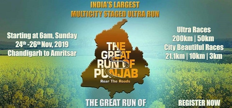 The Great Run Of Punjab - Starting from Chandigarh