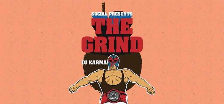 The Grind ft. Dj Karma At Social Chandigarh