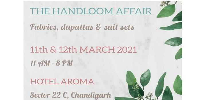 The Handloom Affair At The Hotel Aroma Chandigarh