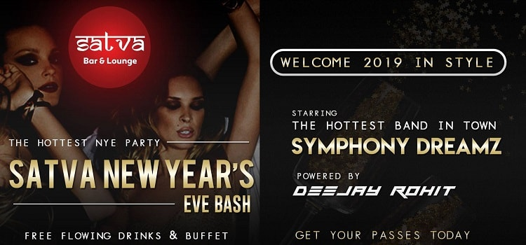 The Hottest NYE Party: Satva New Year's Eve Bash