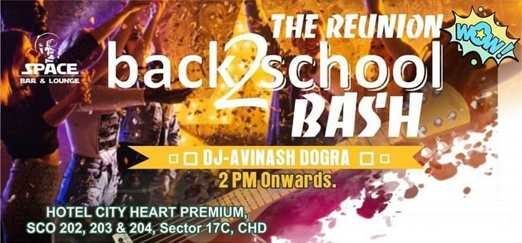 Student Reunion Theme Party At Space Chandigarh by Space Lounge & Bar