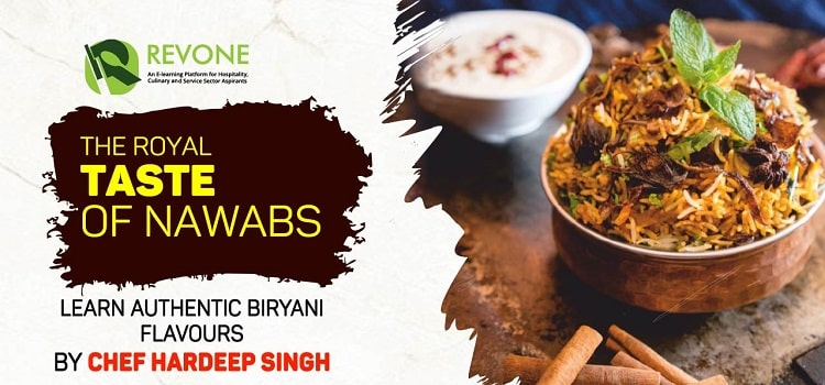 The Royal Taste Of Nawabs By Chef Hardeep Singh