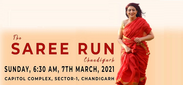 The Saree Run Marathon In Chandigarh