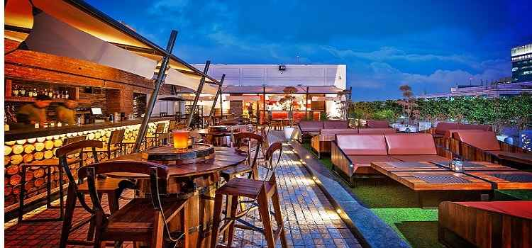 These Outdoor Cafes In Gurgaon Are A Perfect Treat For Sore Eyes & Gut