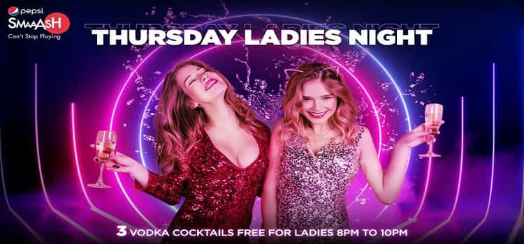 Thursday Ladies Night at Smaash Chandigarh