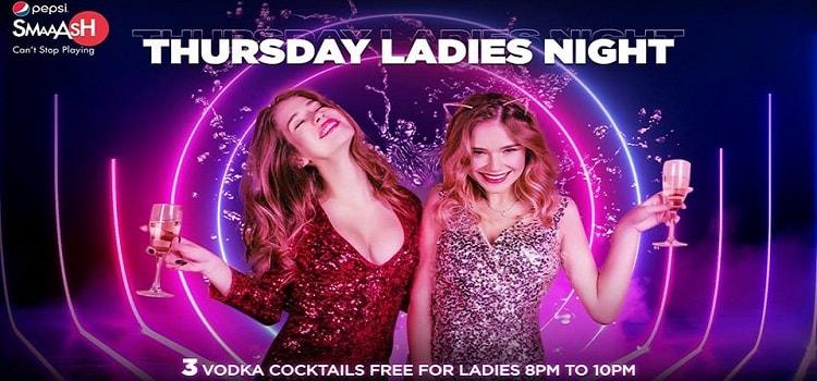 Thursday Ladies Night At Smaaash Chandigarh