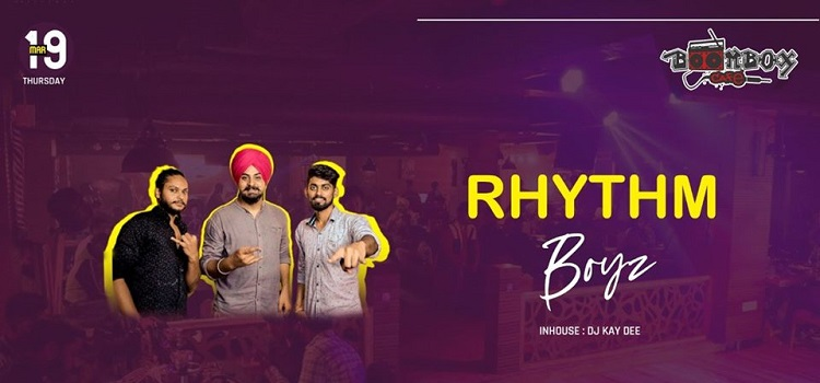 Thursday Night With Rhythm Boyz At Boombox Cafe