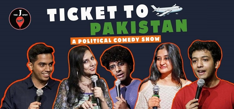 Ticket to Pakistan - A Political Comedy Show