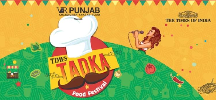 Times Tadka Food Fest 2019 At VR Punjab