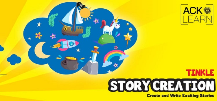 Online Tinkle Story Creation