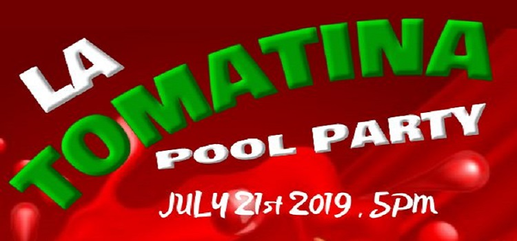 Tomatina Pool Party at Golden Tulip
