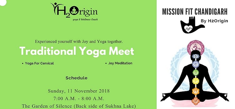 Mission Fit Chandigarh: Traditional Yoga Meet At The Garden of Silence
