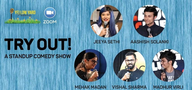 Try Out Online Standup Comedy Show by Online Events