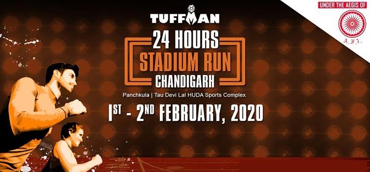 Tuffman 24 Hours Stadium Run Chandigarh 2020