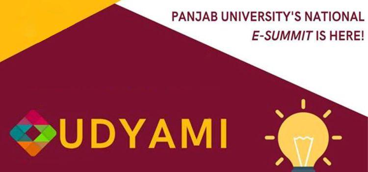 UDYAMI - PU's National Entrepreneurship Summit by Panjab University