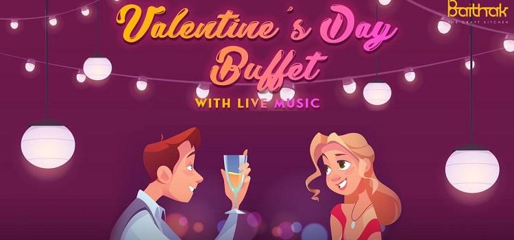 Valentine's Day Celebration at Baithak Chandigarh