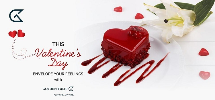 Valentine's Day Celebration At Golden Tulip