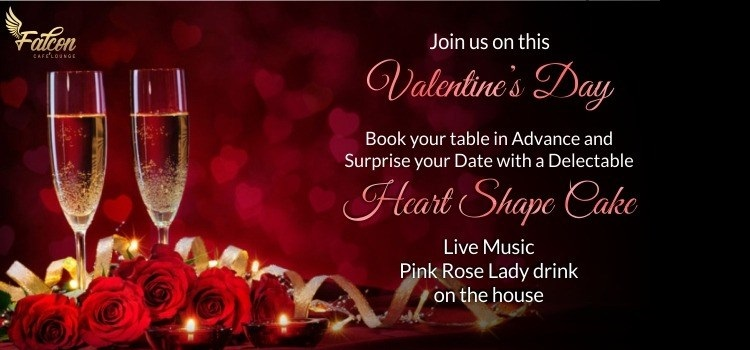 Valentine's Day At Falcon Cafe & Lounge