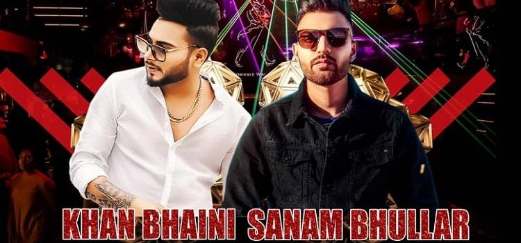 Sanam Bhullar & Khan Bhaini At Paara Chandigarh