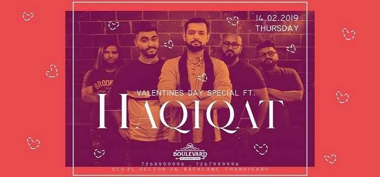 Valentine's Special Ft. Haqiqat At 26 Boulevard