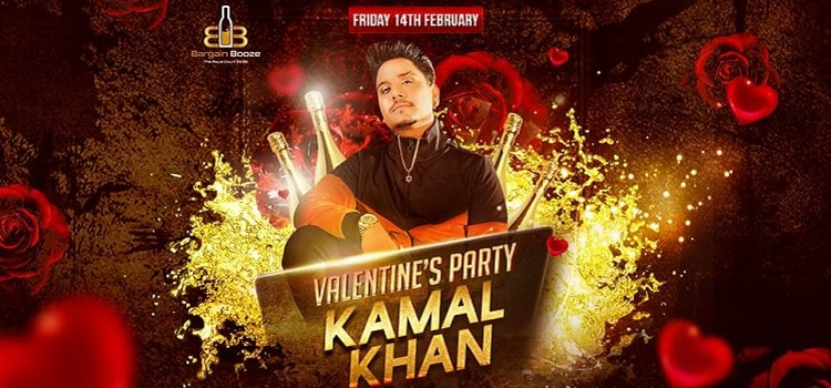 Valentine's Party with Kamal Khan At Bargain Booze