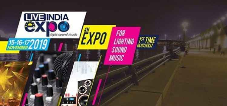Live India Expo 2019 In Ahmedabad