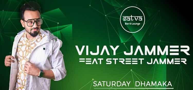 Vijay Jammer ft. Street Jammer at Satva Bar