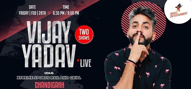 Vijay Yadav Live At Xtreme Chandigarh by Xtreme Chandigarh
