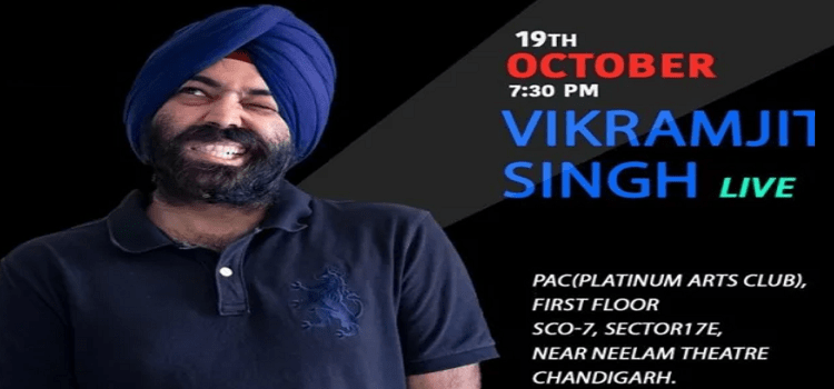 Vikramjit Singh Performing Live In Chandigarh by Platinum Arts Club