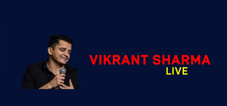 Vikrant Sharma Performing Live In Chandigarh