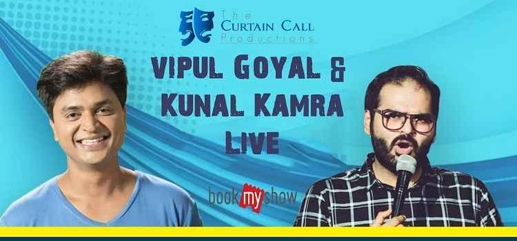 Vipul Goyal & Kunal Kamra Performing Live In Chandigarh!