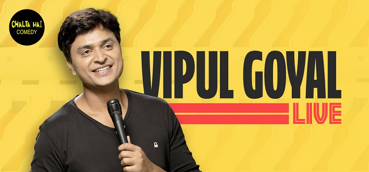 Vipul Goyal Live Comedy by Online Events