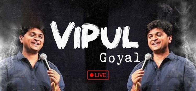 Vipul Goyal Live In Ahmedabad