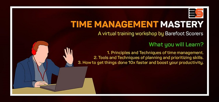 Virtual Time Management Mastery Workshop