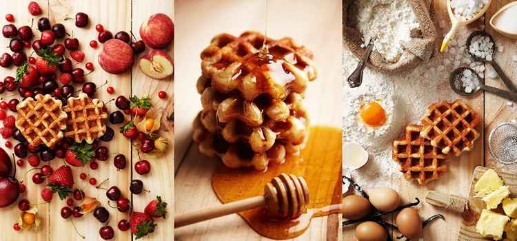 Waffles on the stick! Waffles on the Plate! Try Out The Best Waffles In Ludhiana