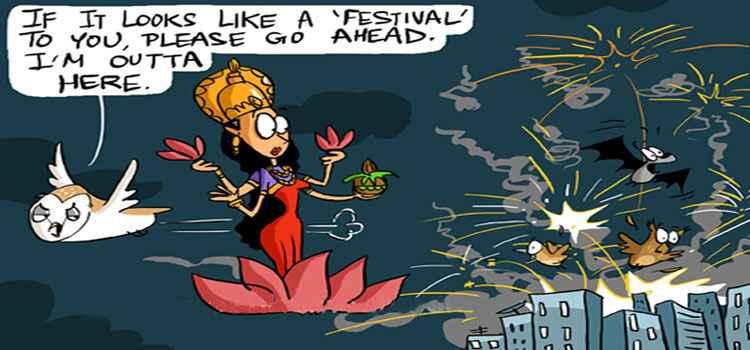 Keep Calm And Have A Green Diwali!