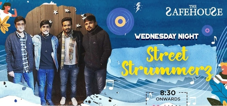 Wednesday Night Ft Street Strummerz At Safe House by The Safe house