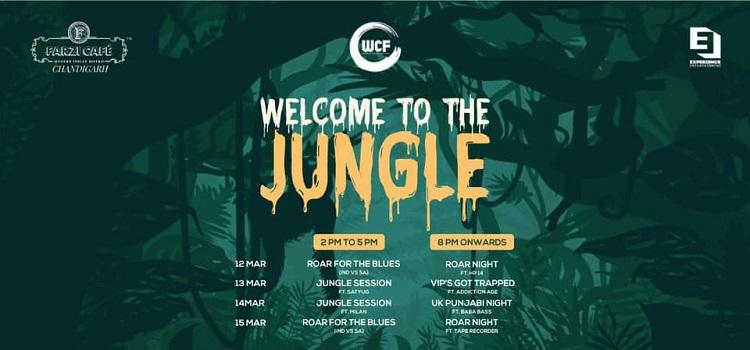 Jungle Theme Party At Farzi Cafe Chandigarh