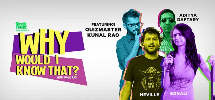 Why Would I Know That?- Online Comedy Event