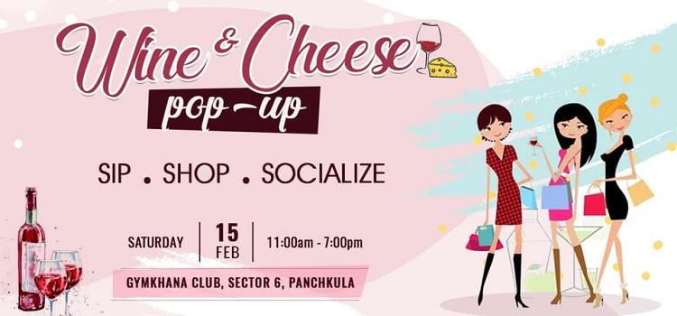 Wine & Cheese Pop-Up At Gymkhana Club Panchkula