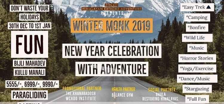 Winter Monk 2019: Make Your New Year Adventurous At Kullu Manali