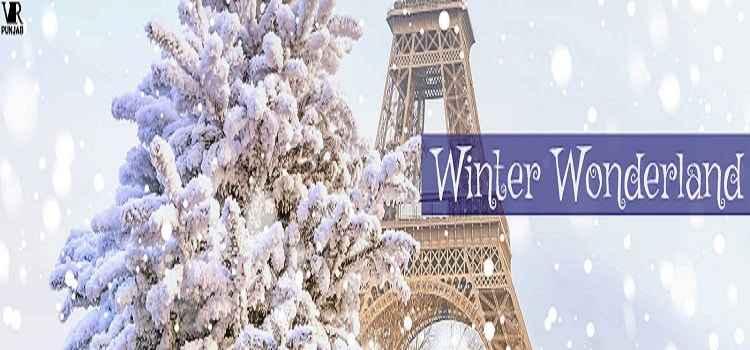 Enjoy The Winter Wonderland At VR Punjab