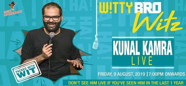 Witty Bro Witz feat. Kunal Kamra at Grapho 07